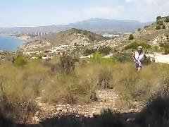 Fucking the wife in nature on vacation in mexico tube porn video