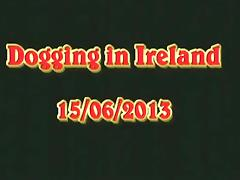 Dogging in ireland. cumcontainer slut gets filled up by 2 total strangers, while her man tapes it. tube porn video