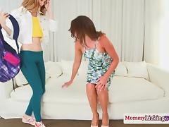 Stepmom cougar pussylicking petite teen tube porn video