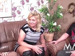 MMV FILMS Creampie for Mature German tube porn video