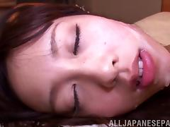 Ride to a hotel room and fuck a sexy Japanese chick tube porn video