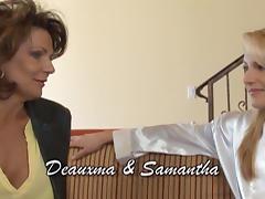 Deauxma & Samantha Ryan in Lesbian Seductions #11, Scene #01 tube porn video