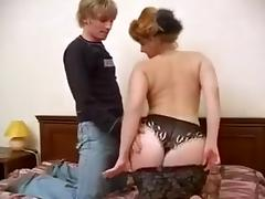 Busty mature woman is really into having sex in doggy position tube porn video