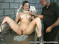 Poor Angelina loves to play suspension games tube porn video