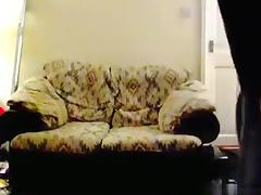 Blonde fat milf has sex on the sofa with her husband tube porn video