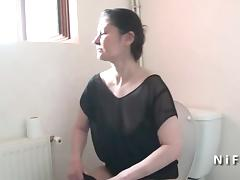 French moms seduces a boy and gives her ass tube porn video