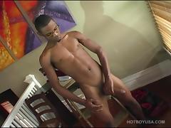 Tyreice Wells Beats Off tube porn video