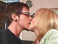 Nina Hartley horny for young stud tube porn video