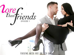 Anissa Kate & Seth Gamble in More Than Friends, Episode 1 Video tube porn video