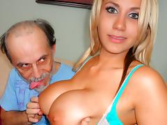 Alanah Rae in Dirty Old Man Lucks Out - PornPros Video tube porn video