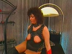 Classic German anal tube porn video
