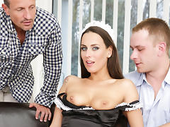 Mea Melone, Thomas Lee, George Uhl in DP The Nanny With Me #04, Scene #04 tube porn video