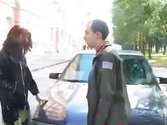 Crossdressers In Threesome Fuck tube porn video