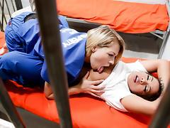 Zoey Monroe,Morgan Lee in Prison Lesbians #03, Scene #04 tube porn video