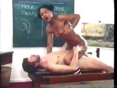 Ebony Schoolgirl tube porn video