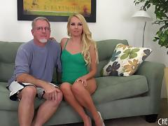 Old guy with grey hair gets to nail the always sexy Aaliyah Love tube porn video