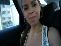 Cutie euro babe pussy banged hard for a ride tube porn video