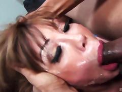 Ava Devine is quite good in taking the boner deep into her mouth tube porn video