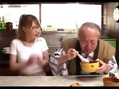 Old man and Beautiful Japanese Girl TIA 2 tube porn video