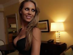 Amazing Nicole Aniston comes directly to my room tube porn video