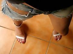 tx-milf teasing in jeans tube porn video