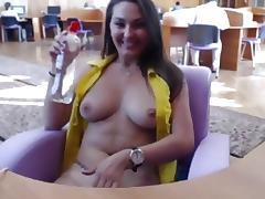 Amatuer big tits vid with me masturbating in public tube porn video