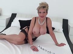 Milf Lady Sonia fucks gym partner cumshot tits tube porn video