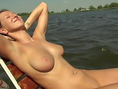 Boat blowjob tube porn video