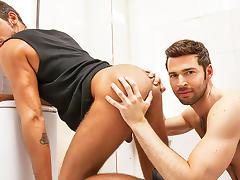 Dario Beck & Massimo Piano in Truck Stop Part 3 - DrillMyHole tube porn video