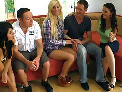 Christina Mour, Tasha Reign and Jennifer Dark tube porn video