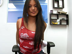 Sweet filipino Lana Violet gets her clothes off tube porn video