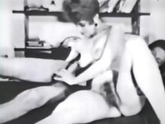 threesome - circa 60s tube porn video