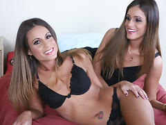 Lacey Love & Lyndsey Love & Alan Stafford in Naughty America tube porn video