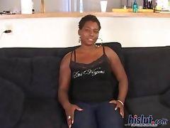 Black pussy got drilled tube porn video