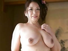 50s Japanese with Awesome Natural Tits tube porn video