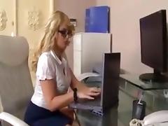 Curvy british blonde dp tube porn video