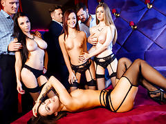 Lea Guerlin, Nikita Bellucci, Sophia Laurein A French Affair,  Scene 4 - DigitalPlayground tube porn video