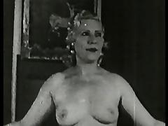 mom dancing, stripping & fucking - circa 40s tube porn video