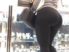 Phat ass super donk black spandex tube porn video