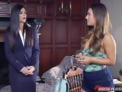 Headmistress India Summer fucking two big dick students tube porn video