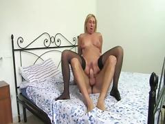 Italian mom seduces her son's friend tube porn video