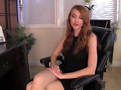 Kendra James nylon feet fantasy tube porn video