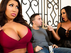 August Taylor & Sybil Stallone & Keiran Lee in Sharing Is Caring - Brazzers tube porn video