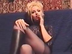 Angelique Clear Long Nails Sharp Talons Claws tube porn video