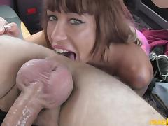 Suhaila in Spanish tits and English big dick - FakeTaxi tube porn video