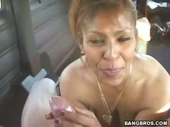 My Favorite Latina MILF gets banged on the way home tube porn video