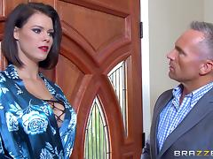 Sexy Peta Jensen lets the partner screw her in all the different poses tube porn video