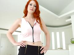 Sweetest redhead babe wants that thing inside her other hole tube porn video