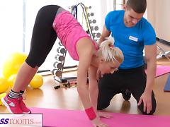 FitnessRooms Gym users sexual fantasies all come true tube porn video