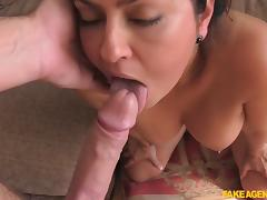 Mariska in Lady wants to do European porn - FakeAgentUk tube porn video